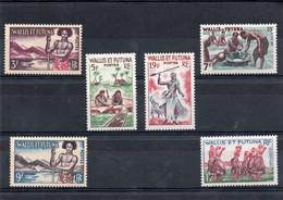 TIMBRE WALLIS&FUTUNA. ANNEE 1957/61 - Unused Stamps
