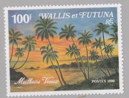 WALLIS-et-FUTUNA :  Yvert  404A   Neuf XX  Meilleurs Voeux - Unused Stamps