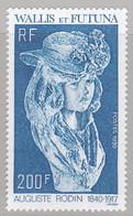 WALLIS-et-FUTUNA :  Yvert  395   Neuf XX  Auguste Rodin - Unused Stamps