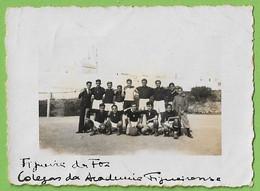 Figueira Da Foz - REAL PHOTO - Equipa De Futebol Académico Figueirense - Estádio - Football - Stadium. Coimbra. Portugal - Coimbra