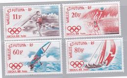 WALLIS-et-FUTUNA :  Yvert  378 à 381    Neuf XX  JO Séoul 1988 - Unused Stamps