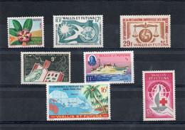 TIMBRE WALLIS&FUTUNA. ANNEE 1958/65 - Unused Stamps