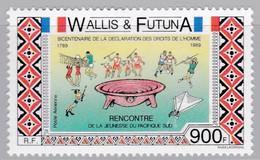 WALLIS-et-FUTUNA :  Yvert PA 166  Neuf XX Bicentenaire De La Déclaration Des Droits De L'Homme - Unused Stamps