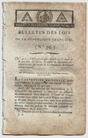 Bulletin Des Lois N°76 Vendémiaire An III 1794 Tribunal Révolutionnaire/Levée Du Camp Des Sablons école De Mars/Archives - Decreti & Leggi
