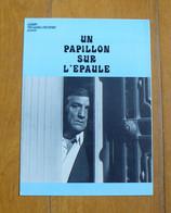 Un Papillon Sur L'épaule : Dossier De Presse - Lino Ventura, C. Auger - 1978 - Cinema Advertisement