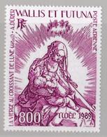 WALLIS-et-FUTUNA :  Yvert PA 167  Neuf XX A Dürer Noël 1989 - Unused Stamps