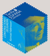 España. Spain. 2021. Constructores De Europa. Konrad Adenauer - 2011-... Nuovi & Linguelle
