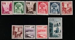MAROC - N°306/14 ** (1951-54) Vues - Ongebruikt