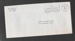 Flamme Dpt 59 : FECHAIN Temporaire Non Illustrée De 1989 : Foire à L'oignon Août 1989 - Annullamenti Meccanici (pubblicitari)