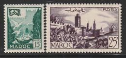 MAROC - N°333/4 ** (1954) - Ongebruikt