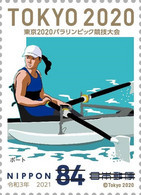 (oly65) Japan Paralympic Games Tokyo 2020 Rowing Boat MNH - Neufs