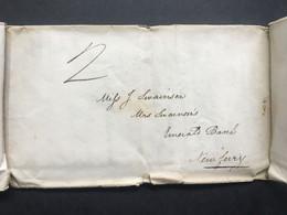 GB 1833 Entire Chester To New Ferry Wirral - ...-1840 Préphilatélie