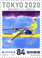 (oly34) Japan Olympic Games Tokyo 2020 Rowing Boat MNH - Neufs