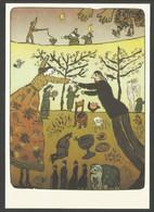 Allemagne RDA EP Kunstaustellung DDR Eva Natus Salamoun Aus Dem Zyklus Briefe Für Wanzka - Privatpostkarten - Ungebraucht