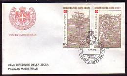 MALTA (Ordre De ) - 1980 -  FDC - Voyage - Malte (Ordre De)