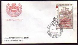 MALTA (Ordre De ) - 1981 -  FDC - Voyage - Malte (Ordre De)