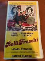Italy Belli Freschi Film Lino Banfi VHS Film Movie - Other