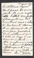 Autografo Di Federico Sella Su Biglietto Da Visita - 1892 - Autographs