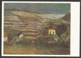 Allemagne RDA EP Kunstaustellung DDR Theodor Rosenhauer Radebeul Im Winter - Privatpostkarten - Ungebraucht