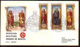 MALTA (Ordre De ) - 1971 -  Religion - FDC - Voyage - Malte (Ordre De)