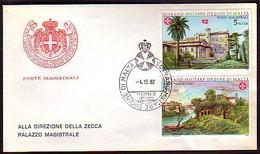 MALTA (Ordre De ) - 1982 -  FDC - Voyage - Malte (Ordre De)