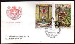 MALTA (Ordre De ) - 1983 -  Fontaines - FDC - Voyage - Malte (Ordre De)