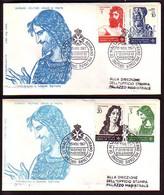 MALTA (Ordre De ) - 1967 -  2 FDC - Voyage - Malte (Ordre De)