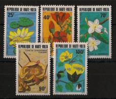 Haute Volta - 1982 - N°Yv. 582 à 586 - Fleurs / Flowers - Neuf Luxe ** / MNH / Postfrisch - Ohne Zuordnung