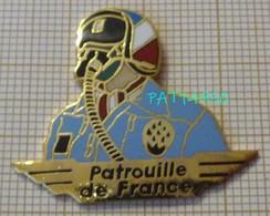 PATROUILLE DE FRANCE  AVIATION PILOTE En Version EGF - Aviones