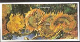 Nederlandse Antillen NVPH 1592 Blok Vincent Van Gogh 2005 MNH Postfris Art Paintings - Curazao, Antillas Holandesas, Aruba