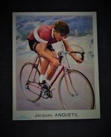 Image Photo Jacques Anquetil. Miroir Du Sprint. Années 50. Cyclisme, Vélo, Tour De France. Globo - Ciclismo