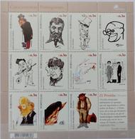 2005. Portugal. Caricaturists Portuguese Mi. 2953-63 Klb. MNH ** - Unused Stamps