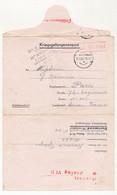 KRIEGSGEFANGENENPOST - Formule Pour Colis, Depuis Le Stalag VI D - 1941 - Cachet Du Buraliste (Tabac) - 2. Weltkrieg 1939-1945