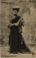 CPA AK Theater Stars Mme Simone Le Bargy (528392) - Théâtre