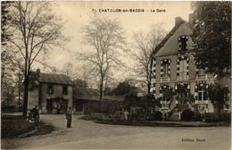 CPA AK CHATILLON-en-BAZOIS - La Gare (518341) - Chatillon En Bazois