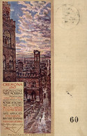 CPA - CREMONA, 1910 - Esposizione D'Arte Moderna - Commemorativa, Commémoration - VG - PU740 - Advertising