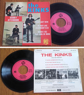 """RARE French EP 45t RPM BIEM (7"""") THE KINKS (1966) - Collector's Editions"""