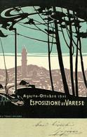CPA - VARESE, Esposizione 1901 - A. MAZZA - Art Nouveau - Commemorativa, Commémoration - VG - PU741 - Advertising