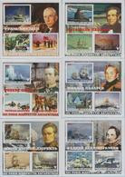 Fantazy Labels Private Issue 185 Years Of The Discovery Of Antarctica Discoverers Explorers Of The Continent.  2005 - Fantasy Labels