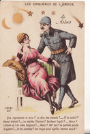 LES EMBLEMES DE L'AMOUR -  Les Astres - - Oorlog 1914-18