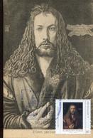 65018 Germany, Maximum 2021 Painting Of Albrecht Durer, Self Portrait,   Vintage Card - Andere