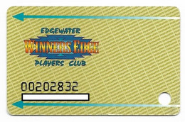 Edgewater Casino, Laughlin, NV, U.S.A., Older Used Slot Or Player's Card,  # Edgewater-1 - Casino Cards
