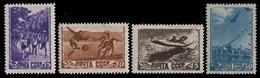 Russia / Sowjetunion 1948 - Mi-Nr. 1246-1249 ** - MNH - Sport - Ungebraucht