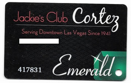 El Cortez Casino, Las Vegas, Older Used Slot Or Player's Card, # Elcortez-2 - Casino Cards