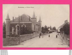 CPA (Ref Z1225) ECOMMOY (72 SARTHE) Château Rouge (animée) - Ecommoy