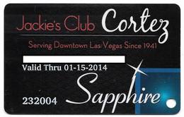 El Cortez Casino, Las Vegas, Older Used Slot Or Player's Card, # Elcortez-3 - Casino Cards