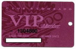 ElDorado Casino, Reno, NV,  U.S.A., Older Used Slot Or Player's Card, # Eldorado-5 - Casino Cards
