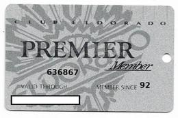 ElDorado Casino, Reno, NV,  U.S.A., Older Used Slot Or Player's Card, # Eldorado-6 - Casino Cards