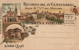 CPA - LUGO, 1896 - IV Centenario Della Beata Vergine Del Molino - Commemorativa, Commémoration - NV - PU749 - Advertising