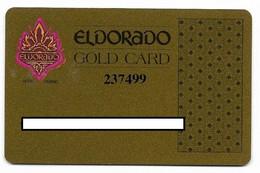 ElDorado Casino, Reno, NV,  U.S.A., Older Used Slot Or Player's Card, # Eldorado-7 - Casino Cards